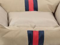 Pelíšek pro psy Rosewood Gold Water Resistant pro malé, střední i velké psy. Bohatě vycpané bočnice, snížená přední strana, voděodolný. Výběr velikostí. (6)