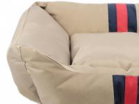Pelíšek pro psy Rosewood Gold Water Resistant pro malé, střední i velké psy. Bohatě vycpané bočnice, snížená přední strana, voděodolný. Výběr velikostí. (7)