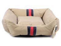 Pelíšek pro psy Rosewood Gold Water Resistant pro malé, střední i velké psy. Bohatě vycpané bočnice, snížená přední strana, voděodolný. Výběr velikostí.