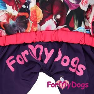 Obleček pro psy – pláštěnka pro fenky malých až středních plemen od For My Dogs (3)