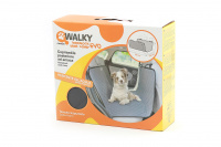 Velmi praktický potah zadních autosedadel pro bezproblémové cestování se psy. Voděodolné provedení, trvanlivý a odolný materiál. Rozměry 125 × 145 cm. (4)