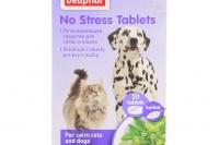 BEAPHAR No Stress jsou 100% přírodní zklidňující tablety pro psy i kočky s výtažky z meduňky, rozmarýnu, lípy a chmelu. Balení 20 tablet (3).