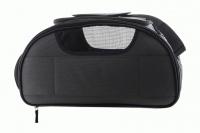 Příruční taška na psy do letadla schválená většinou leteckých společností. Polstrovaný pás pro nošení přes rameno, tvar držící materiál EVO, rozměry 45 × 27 × 25 cm. (6)
