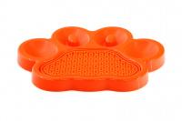 Zpomalovací miska pro psy PetDreamHouse 2v1 – oranžová (2)