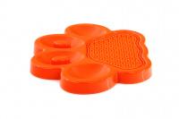 Zpomalovací miska pro psy PetDreamHouse 2v1 – oranžová (4)