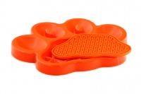 Zpomalovací miska pro psy PetDreamHouse 2v1 – oranžová (7)