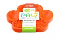 Zpomalovací miska pro psy PetDreamHouse 2v1 – oranžová