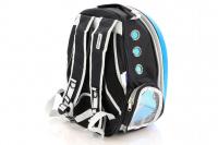 Průhledný batoh na psa do 4 kg NOBLEZA – modrý (6)