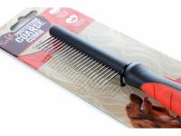 """Hřeben pro psy COARSE zn. """"Soft Protection Salon"""". Pro rozčesávání srsti a stimulaci přirozené produkce kožního mazu. Délka 21,5 cm. (3)"""