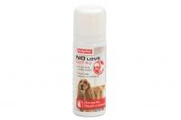 Sprej BEAPHAR No Love neutralizuje specifický pach feny v průběhu hárání. Bezpečné a jednoduché použití, objem 50 ml.