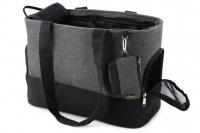 Luxusní taška na psy v praktickém designu a precizním provedení od HUNTER. Tři síťované strany, vyjímatelná podložka, bezpečnostní poutko s karabinou. Nosnost 8 kg. (9)