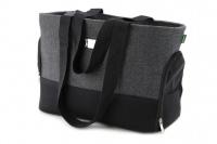 Luxusní taška na psy v praktickém designu a precizním provedení od HUNTER. Tři síťované strany, vyjímatelná podložka, bezpečnostní poutko s karabinou. Nosnost 8 kg. (2)