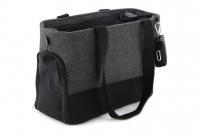 Luxusní taška na psy v praktickém designu a precizním provedení od HUNTER. Tři síťované strany, vyjímatelná podložka, bezpečnostní poutko s karabinou. Nosnost 8 kg. (3)