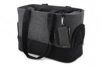 Luxusní taška na psy v praktickém designu a precizním provedení od HUNTER. Tři síťované strany, vyjímatelná podložka, bezpečnostní poutko s karabinou. Nosnost 8 kg. (5)