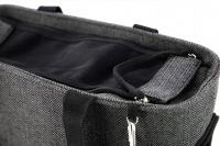Luxusní taška na psy v praktickém designu a precizním provedení od HUNTER. Tři síťované strany, vyjímatelná podložka, bezpečnostní poutko s karabinou. Nosnost 8 kg. (7)