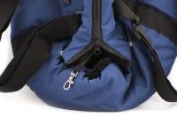 Taška na psy od BOBBY z měkkého a příjemného materiálu vhodná pro štěňata, jorkšíry, čivavy apod. Nosnost 5 kg, barva modrá (11).