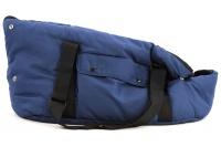 Taška na psy od BOBBY z měkkého a příjemného materiálu vhodná pro štěňata, jorkšíry, čivavy apod. Nosnost 5 kg, barva modrá (5).