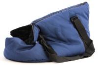 Taška na psy od BOBBY z měkkého a příjemného materiálu vhodná pro štěňata, jorkšíry, čivavy apod. Nosnost 5 kg, barva modrá (3).