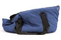 Taška na psy od BOBBY z měkkého a příjemného materiálu vhodná pro štěňata, jorkšíry, čivavy apod. Nosnost 5 kg, barva modrá (4).