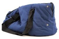 Taška na psy od BOBBY z měkkého a příjemného materiálu vhodná pro štěňata, jorkšíry, čivavy apod. Nosnost 5 kg, barva modrá (6).