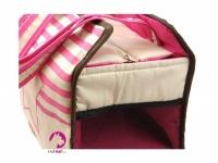 Přepravní taška na psy ve stylovém designu a luxusním provedení