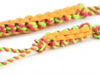 Jednoduchá dentální hračka pro psy vyrobená z kombinace provazových a gumových materiálů (2)