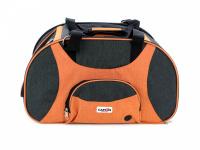 Prostorná transportní taška na psy CAMON s odnímatelnými kolečky a výsuvným madlem. Nosnost 13 kg, lze nosit samostatně, rozměry 53 × 31 × 31 cm. (3)