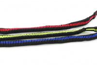 Odpružené vodítko pro velké psy s amortizérem od ROKVEL. Délka 1,2 m, úchop pro normální i zkrácené vedení, výběr barev. (3)