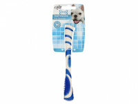 Žvýkací hračka pro psy pro zábavnou dentální hygienu – dentální tyčinka AFP Dental ze speciálně tvarované gumy s výstupky. Výběr barev, velikost 17 cm. (2)