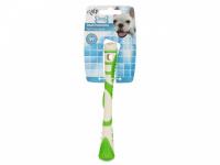 Žvýkací hračka pro psy pro zábavnou dentální hygienu – dentální tyčinka AFP Dental ze speciálně tvarované gumy s výstupky. Výběr barev, velikost 17 cm. (3)