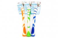 Žvýkací hračka pro větší psy pro zábavnou dentální hygienu – dentální tyčinka AFP Dental ze speciálně tvarované gumy s výstupky. Výběr barev, velikost 18 cm.