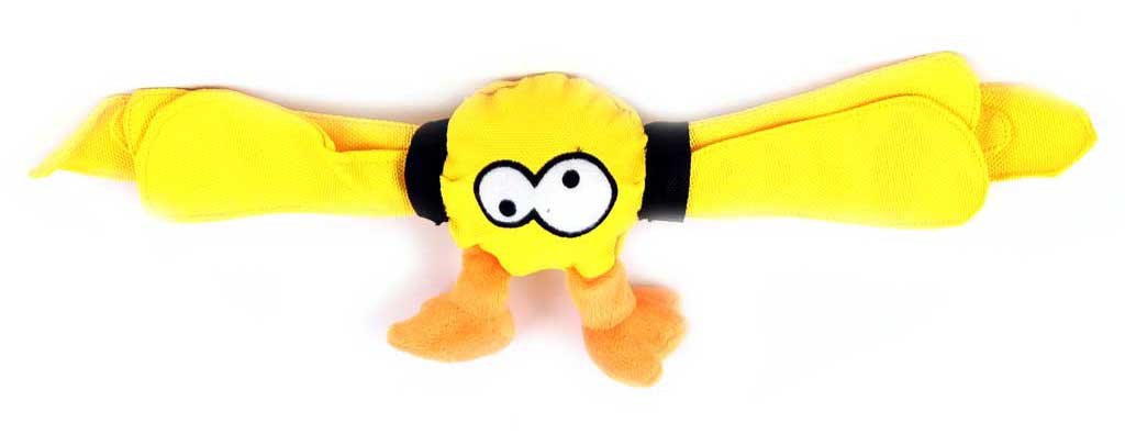 Žlutá hračka pro psy EBI COOCKOO