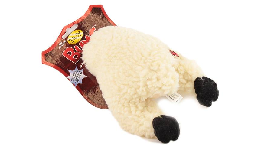 Bláznivá plyšová hračka pro psy – zadní polovina ovce.