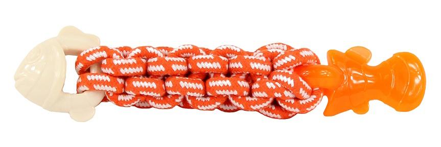 Hračka pro psy Tough Twist Textured Fish