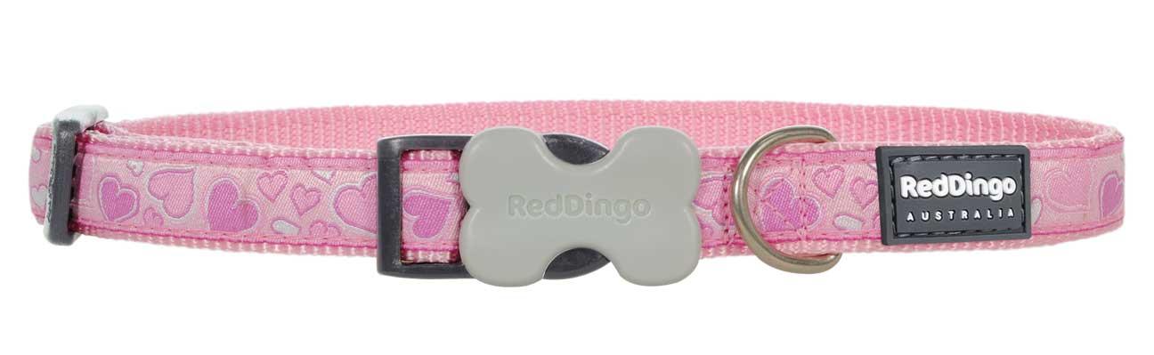 Obojek pro psa RED DINGO – Breezy Love Pink
