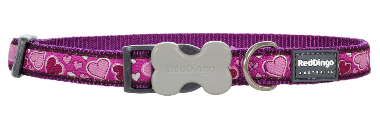 Obojek pro psa RED DINGO – Breezy Love Purple