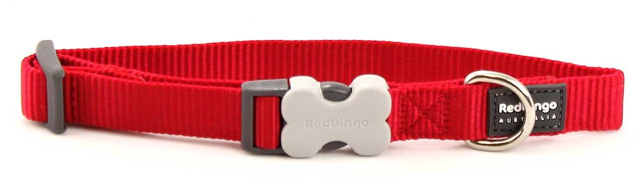 Obojek pro psy RD, červený