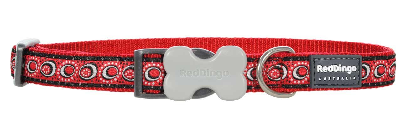 Obojek pro psa RED DINGO – Cosmos Red