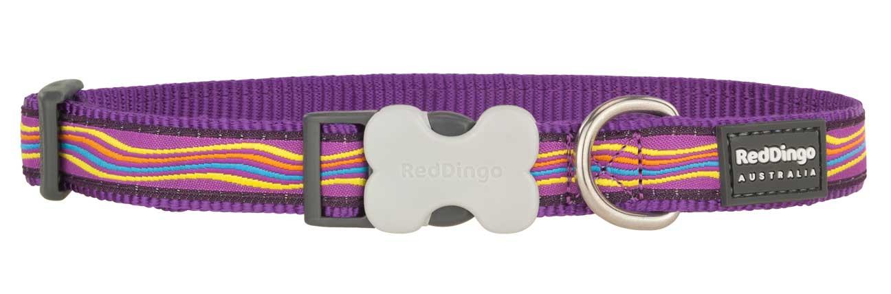 Obojek pro psa RED DINGO – Dreamstream Purple