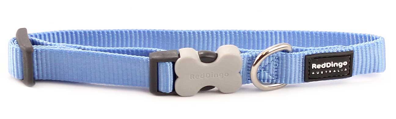 Obojek pro psy RD, středně modrý