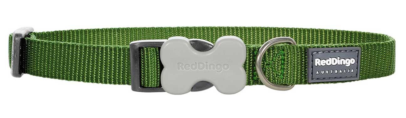 Obojek pro psy RD, zelený