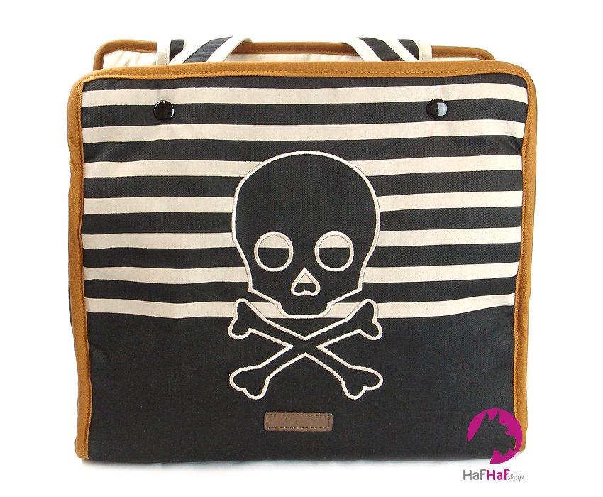 Stylová taška pro psa BOBBY Riviera_pohled