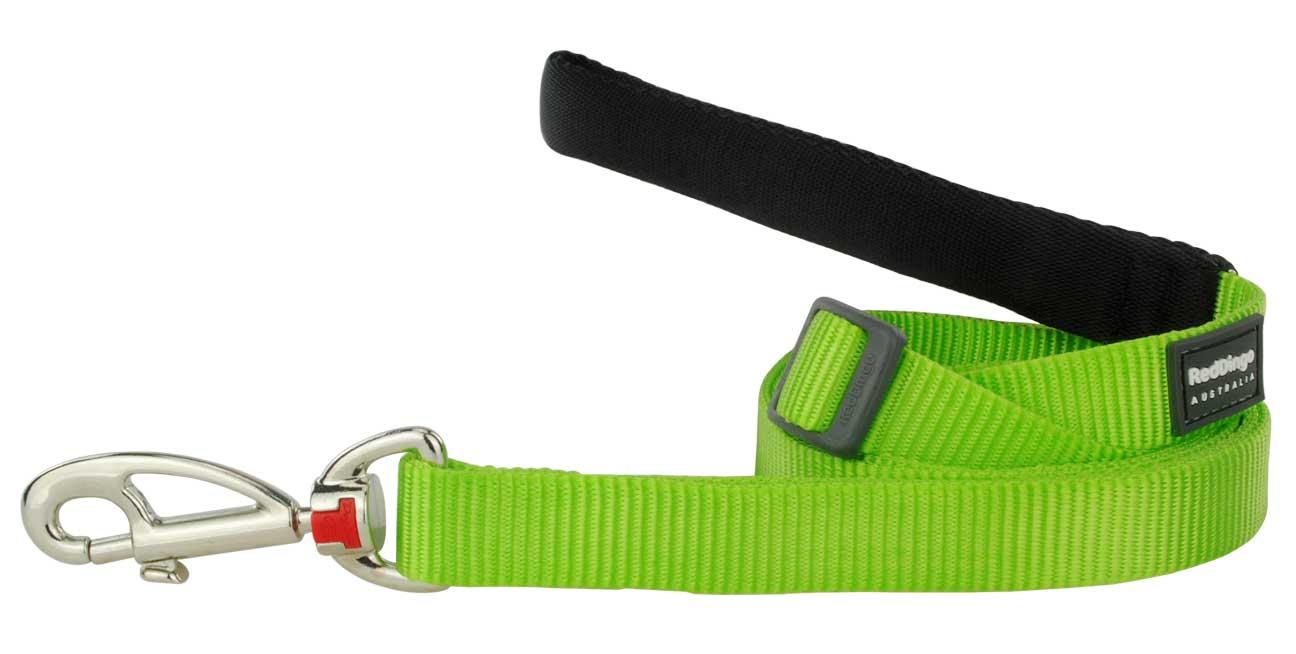 Vodítko pro psa, limetkově zelené