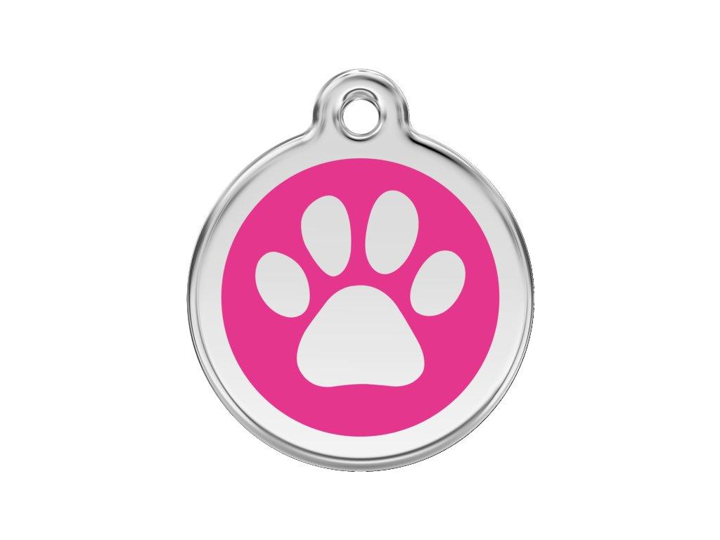 Malá ID známka pro psy včetně rytí od Red Dingo