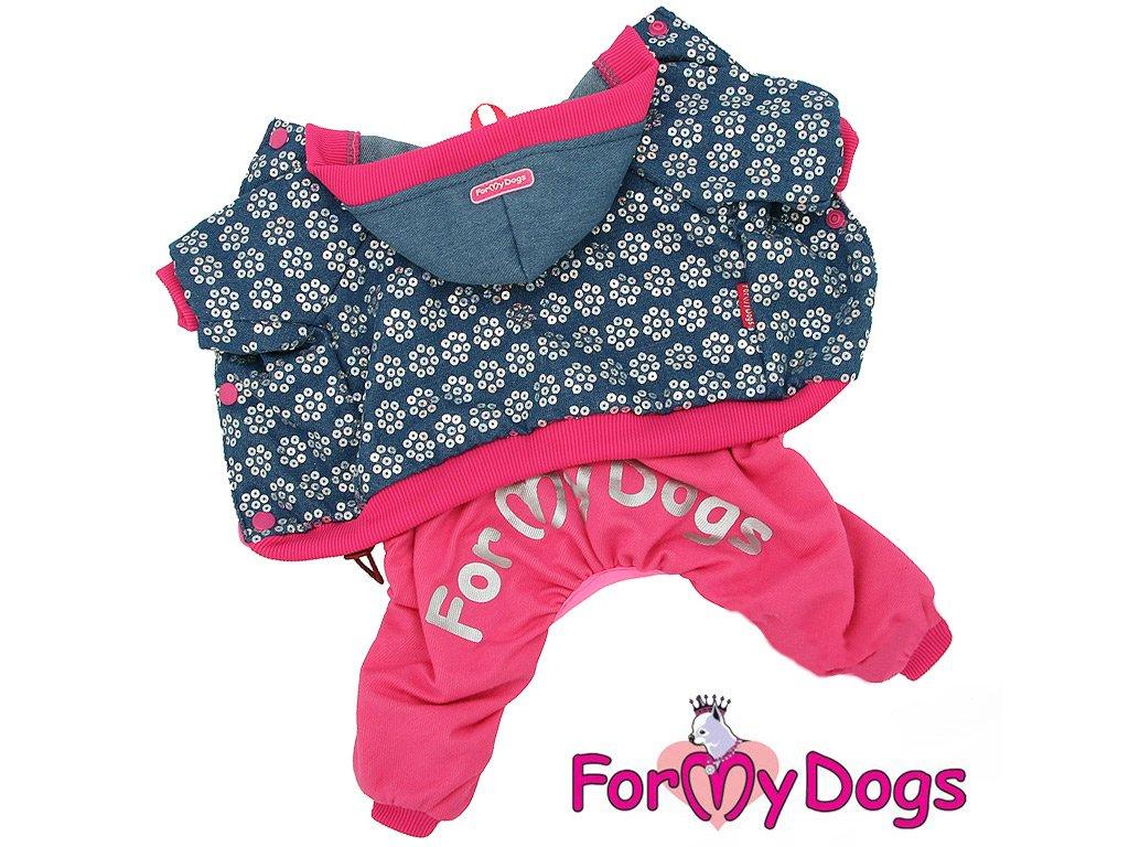 oblecek fmd velour pink blue