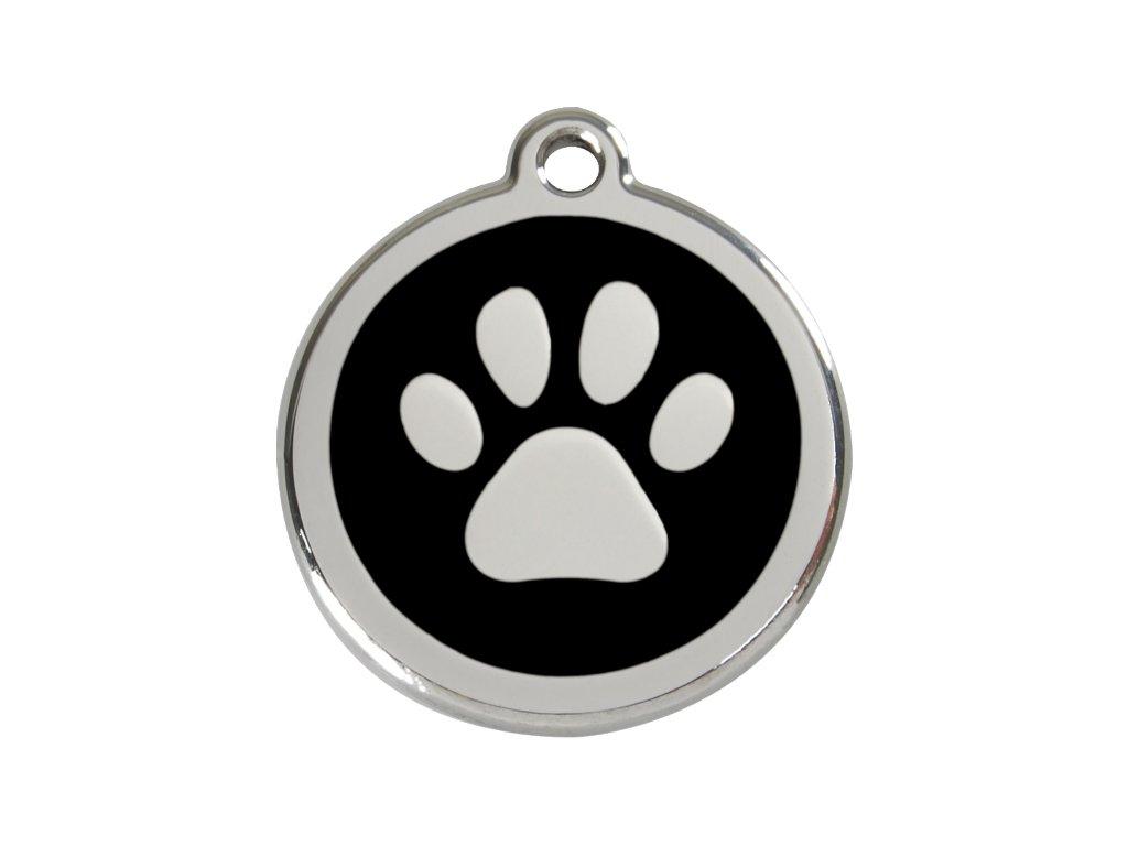 Velká ID známka pro psy včetně rytí od Red Dingo