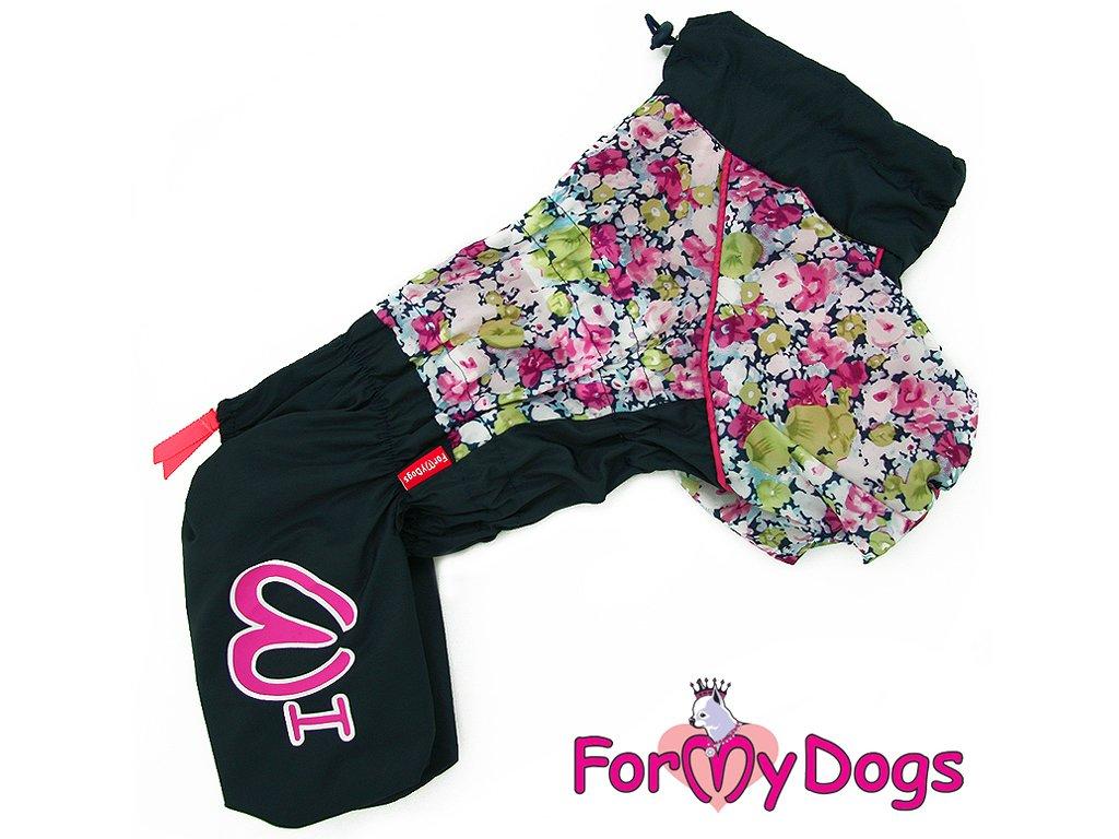 oblecek pro psy plastenka color flowers