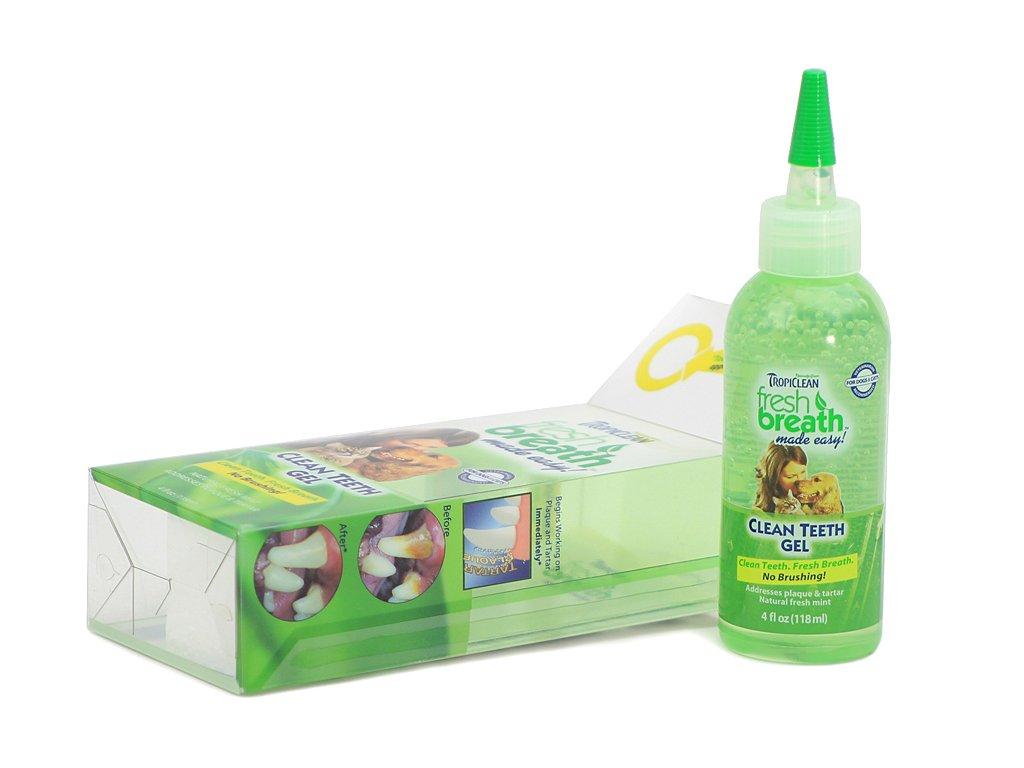 Cleen Teeth Gel – účinný gel na čištění zubů, který snižuje a omezuje tvorbu plaku a zubního kamene bez použití zubního kartáčku.