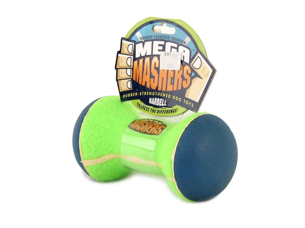 Hračka pro psy – činka Mashers Mega Barbell