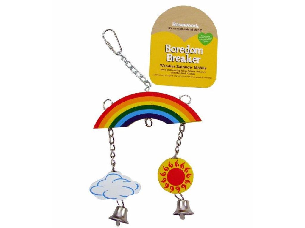 Hračka pro hlodavce Rainbow Mobile